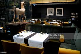 Asian Inspired Dining Room Han Dynasty Terracotta Horse On Display In Asianinspired Dining