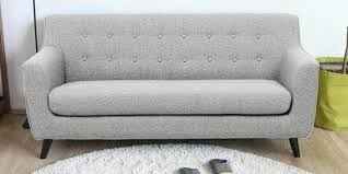 buy bogota three seater sofa in grey colour by casacraft online