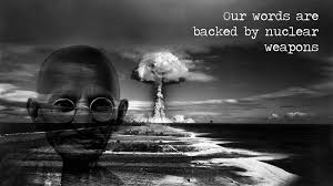 Gandhi Memes - our words nuclear gandhi know your meme