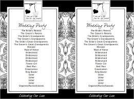 flat wedding programs wedding program template 61 free word pdf psd documents