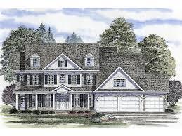 colonial farmhouse plans bonham place colonial farmhouse plan 034d 0064 house plans and more