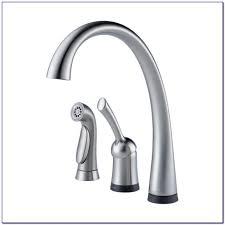 Delta Touch Faucet Red Light Delta Touch Kitchen Faucet Battery Faucets Home Design Ideas