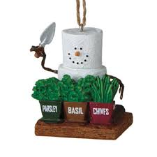 2014 s mores herb gardener ornament by midwest cbk
