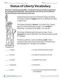 3rd grade vocabulary worksheets u0026 free printables education com