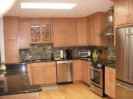 Oak Cabinets In Kitchen by What Granite Looks Best With Red Oak Cabinets Black Granite With