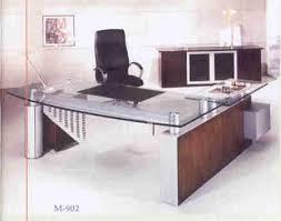 Glass Desk Modern Fabulous Modern Glass Top Desk 19 House White Computer