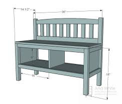 Plans For A Wooden Bench With Storage by 25 Best Shoe Storage Benches Ideas On Pinterest Hallway Shoe