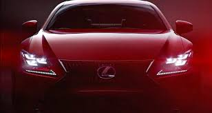 lexus rc red lexus rc turns to passion red for video debut autoevolution