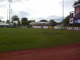 jimmy john s field in the ballparks the outfield wall is taller in left field than along the rest of the fence