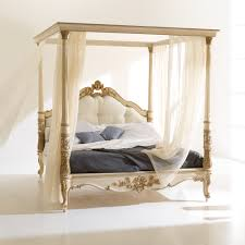 high end italian designer four poster bed juliettes interiors