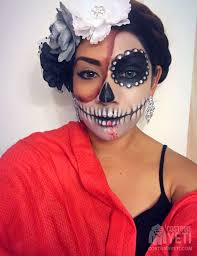 catrina costume day of the dead catrina makeup costume yeti