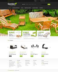 website templates offer garden furniture custom website template