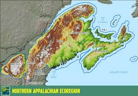 Appalachian Mountains On Map Physiographic Regions Social Studies 10