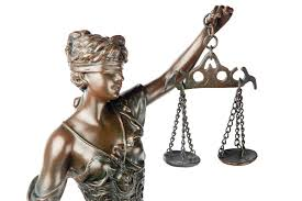 Blind Justice Meaning Arising Out Of