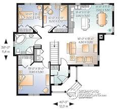 Floor Plans For Bungalows House Plan W3133 Detail From Drummondhouseplans Com