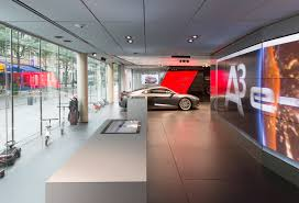 audi showroom fifth audi city digital showroom opens in paris fourtitude com