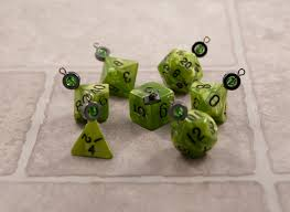 sw ooze ornament set thediceoflife dice jewelry and ornaments