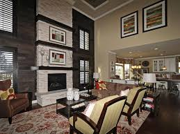 model home fireplaces home decor ideas