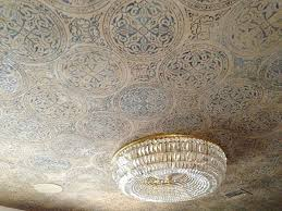 textured ceiling paint ideas metallic paint on ceilings modern masters cafe blog