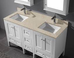 bathroom vanity double sink white for amazing lugano white modern
