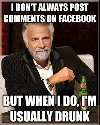 How To Post Memes In Comments On Facebook - i don t always post comments on facebook but when i do i m usually