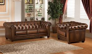 King Hickory Sofa by Amax Hickory 2 Piece Leather Living Room Set Wayfair