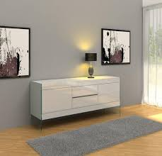 White Lacquer Credenza 14 Dining Room Credenzas Ideal For Cool Modern Homes