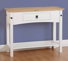 Painted Console Table Seconique Corona Painted 1 Drawer Console Table Console Tables