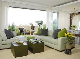 mid century living room ideas exle design in seattle with white