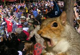 gossip squirrel takes on halloweekend