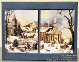 new lang boxed cards folk snowy