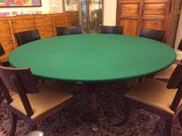 poker table felt fabric felt poker table cloth bonnet cover for round square or