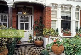 images of terraced house front garden sc