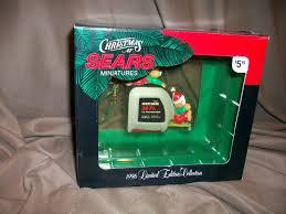 sears christmas ornament craftsman tools tape measure bears 1996