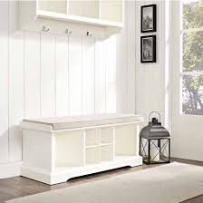 Cushion Top Storage Bench by Crosley Furniture Brennan Entryway Storage Bench Kitchensource Com