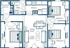 simple 3 bedroom house plans simple 3 bedroom house plans wonderful 6 simple 3 bedroom floor