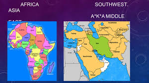 Southwest Asia Map by Africa And Southwest Asia 3c Levels Learning I Will Be Able To