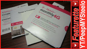 tmobile prepaid no contract sim card activation kit for cheap
