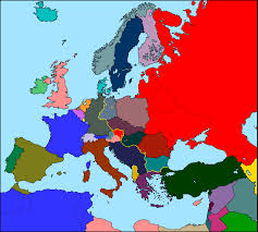 Map Of Cold War Europe by Maps Of Europe Lessons Tes Teach