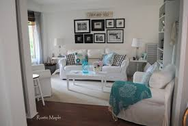 Tan And Grey Living Room by Rustic Maple August 2015