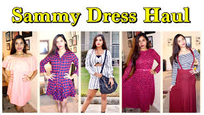 online store sammy dress try on haul cheap clothing review