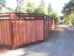 custom tops for solid fences arbor fence inc a diamond