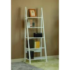 White Ladder Bookcase by Leaning Ladder Shelf Outstanding Leaning Ladder Shelf Ikea Narrow
