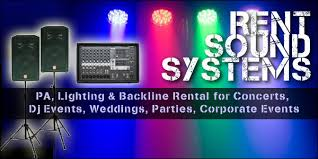 advanced lighting and sound rent sound systems lighting