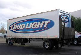 bud light truck driving jobs portland car wraps car decals vinyl wraps pacific truck colors