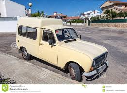 renault old old renault 4 fourgonnette editorial stock photo image of vehicle
