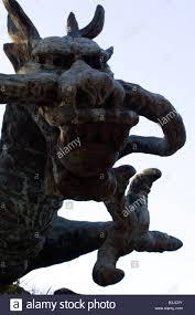God Statue A Dragon God Statue In A Temple In Kamakura The Statue Represents