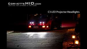 c3 led projector headlights corvettehid