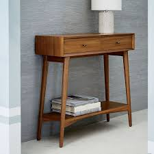 west elm entry table mid century modern entry table paddysfivemiler