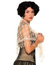 Halloween Costume Lady Roaring 20 Lace Shawl Lady Halloween Costume Accessory Women
